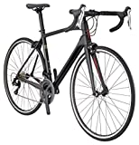 Schwinn Fastback Carbon Performance Road Bike for Advanced to Expert Riders, Featuring 45cm/Extra Small Lightweight Carbon Fiber Frame and Shimano 105 22-Speed Drivetrain with 700c Wheels, Matte Black