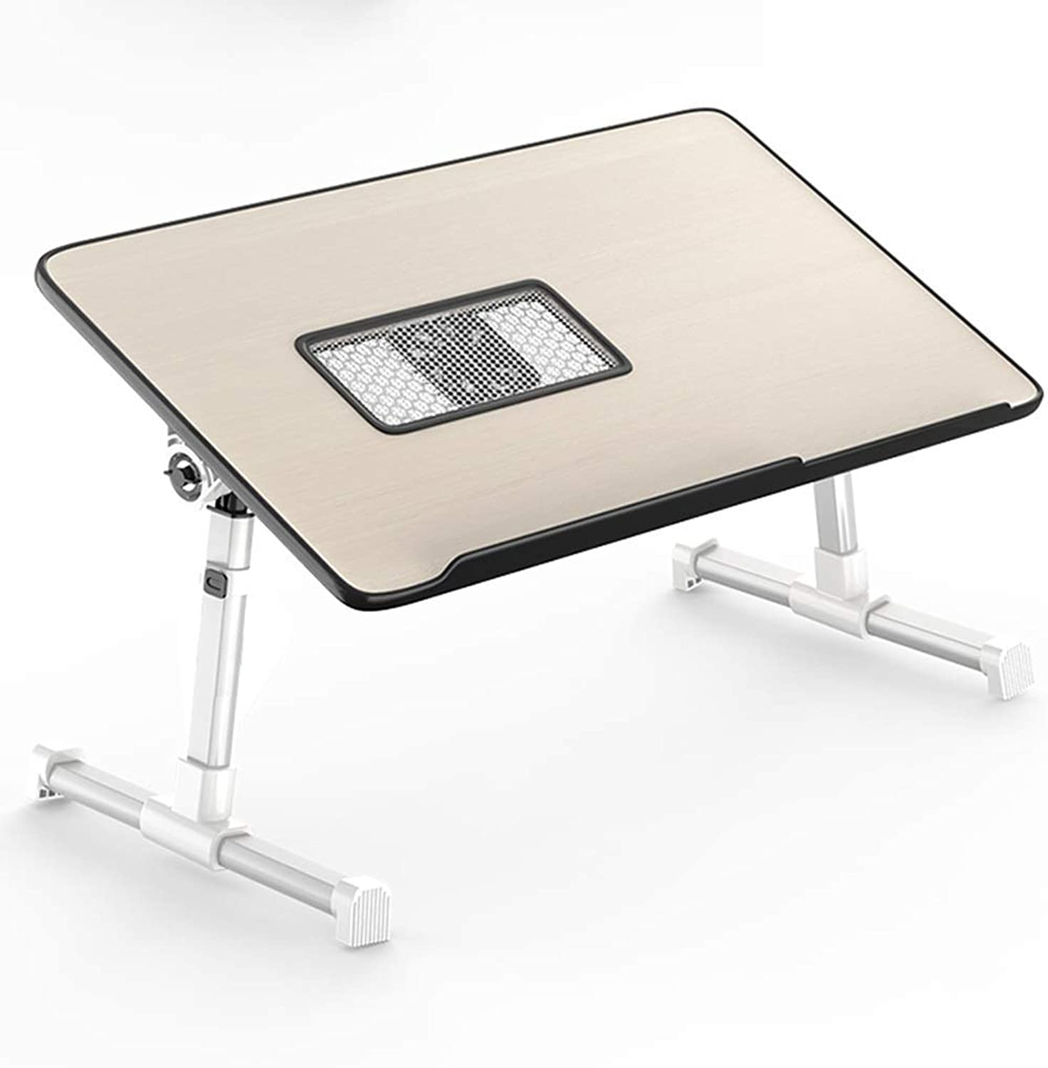 Portable Folding Table Office Simple Desk Computer Laptop Desk Bed Desk Folding Student Dormitory Small Lazy Small Table Multi-Size Optional (Size   52  30  22cm)