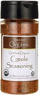 Swanson Certified Organic Creole Seasoning 2.6 Ounce (73.7 g) Flakes