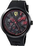 Scuderia Ferrari Homme Analogique Classique Quartz Montres bracelet avec bracelet en Silicone - 830394