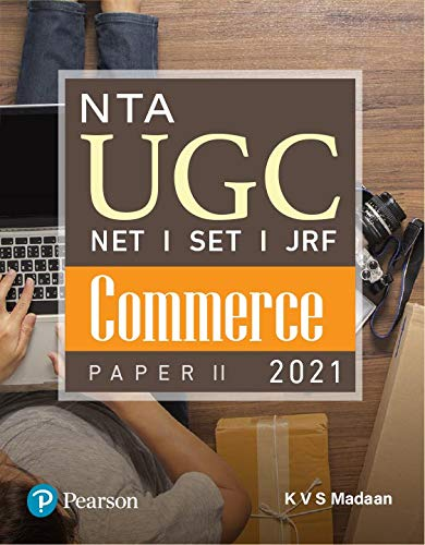 NTA UGC NET/SET/JRF: Paper II - Commerce | First Edition | By Pearson