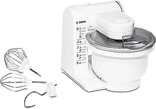 Bosch MUM4405 - Robot de cocina MUM4 para repostería, 500 W, capacidad 3.9 l, color blanco