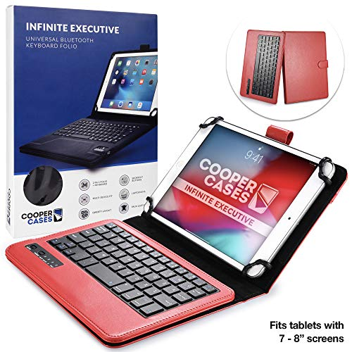 custodia con tastiera tablet 7 pollici Custodia Tablet 7-8 Pollici Tastiera Wireless