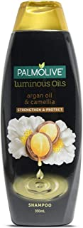 Palmolive Luminous Oil Shampoo with Essential Argan Oil & Camelia extracts (Nourish & Protect Hair) - 350ml