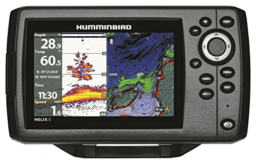 Humminbird 410210-1 Helix 5 Chirp GPS G2 Fish Finder
