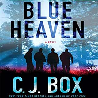 Blue Heaven audiobook cover art