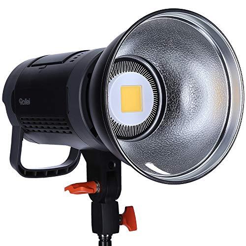 Rollei Soluna II-60, LED-Dauerlicht/Video-Leuchte mit 60 Watt und Bowens-Anschluss einem CRI Wert von 96