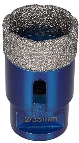 Prodiamant - Broca de diamante de alta calidad para azulejos y porcelanato M14, aptapara amoladora de ángulo, Azul