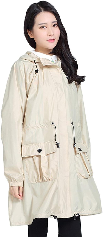 JE Raincoat Windbreaker Regenmantel, Wanderschritt, Dünner Poncho, Atmungsaktiv, Aufbewahrungstasche