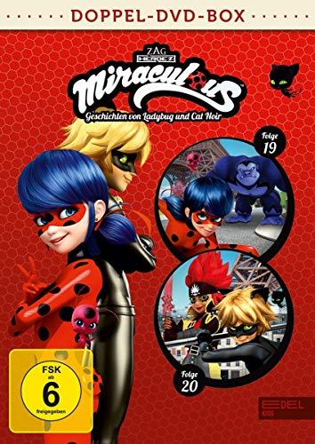 Miraculous - Geschichten von Ladybug und Cat Noir - Doppel-DVD-Box (Folgen 19 + 20)
