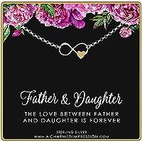 A Charmed Impression 父と娘 - インフィニティハートブレスレット