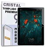 REY Protector de Pantalla para Huawei MEDIAPAD T3 10 9.6', Cristal Vidrio Templado Premium