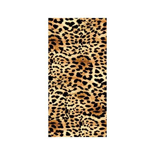 TEXTIL TARRAGO Toalla de Playa 90x170 cm 100% Algodon Piel de Tigre estampacion Digital fotografica PIE02