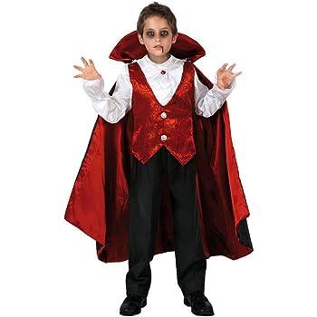 Atosa-95283 Disfraz Vampiro, color rojo, 7 a 9 años (95283 ...