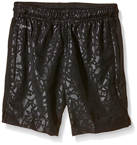 Nike Strike SC2140 Pantaloncini da Calcio per Ragazzo, in Tessuto con Stampa Grafica, Ragazzi, Fußballshorts Strike Longer Woven Printed Graphic, Black - Black, L