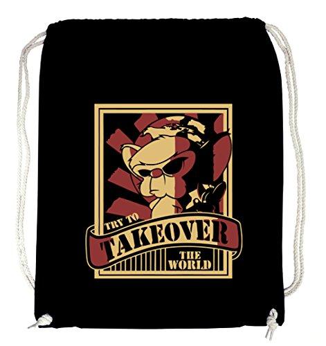 World Takeover Gymsack Black Certified Freak