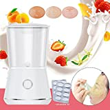 Yuanl Mini Facial Masks Machine Fully Automatic Fruit Face Masks Maker Natural Collagen Fruit And Vegetable DIY Beauty Equipment Homemade Moisturizing And Acne Moisturizing Facial Masks Machine