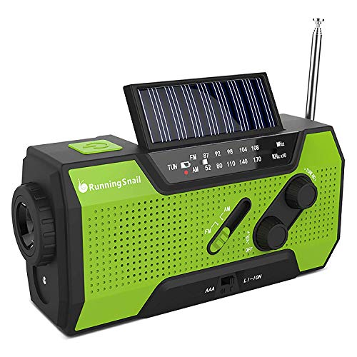 Wind Up Solar Radio,Solar Powered Radio Emergency Hand Crank...
