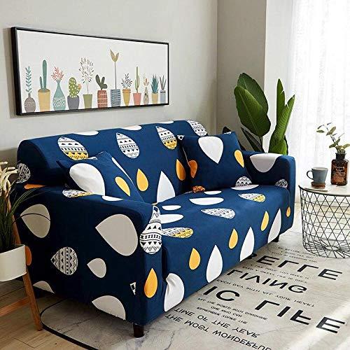 Vlejoy Couch überzug Fashon Cartoon Elastic Sofabezug Stretch Sectional Couchbezüge für Sofa Protector 1/2/3/4 Sitzer Sofabezüge für Wohnzimmer-Sofa_Cover-3_2seater (145-185cm)