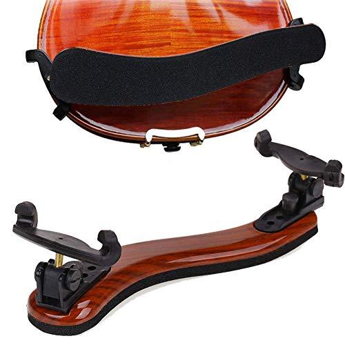 RONSHIN Popular Sell for Maple Wood viool schoudersteun voor 3/4 en 4/4 viool met in hoogte verstelbare voeten