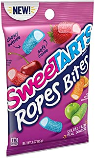 SweeTARTS Ropes Bites Cherry Punch, 3 Ounce (Pack of 12)