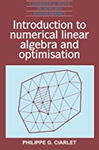Best introduction to numerical linear algebra and optimization Reviews