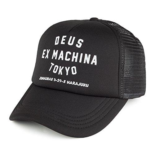 Gorra Trucker Tokyo Address de Deus Ex Machina - Negro - Ajustable