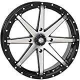 STI HD10 ATV/UTV Wheels - Gloss Black Machined / 20X7 4/137 4+3
