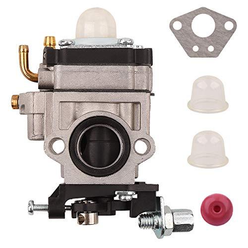 Mtanlo Kit de Junta de carburador para SCEWFIX Titan TTL530GBC 43CC 52CC 40-5 BC430 CG430 CG520 1E40F-5 44F-5 Desbrozadora con Bombilla de imprimación y válvula de retención
