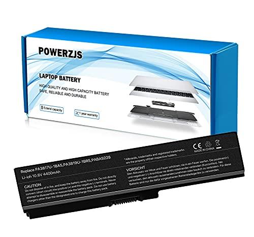 ZJSTRO Batería para Toshiba PA3817U-1BRS PA3818U-1BRS PA3819U-1BRS Satellite C650 C650D C655 C660 C655 L600 L675 L700 L745 L750 L750D [10.8V 4400mAh]
