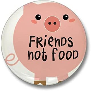 CafePress friends not food Mini Button 1