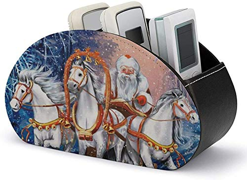 YLB Titular de Control Remoto PU Cuero Navidad Santa Rides en el...