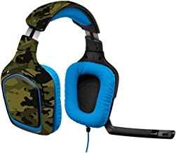 MightySkins Skin Compatible with Logitech G430 Gaming Headset - Green Camouflage   Protective, Durable, and Unique Vinyl Decal wrap Cover   Easy to Apply, Remove, and Change Styles   Made in The USA