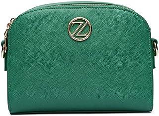 حقيبة طويلة تمر بالجسم للنساء من زينيف لندن، 218313-اخضر