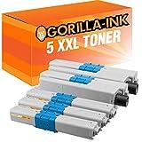 Gorilla-Ink 5 Toner XXL compatibile per OKI C-332 C332 C 332 C332-DN MC-363-DN MC-363-N MC-363-DNW C-332-DNw MC 363 N MC363 DNW C332 DNw