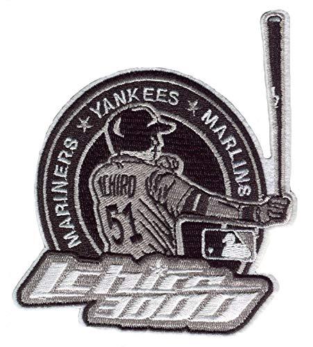 Dark blue sea New York Yankees Baseball-Team-Stickerei-Aufnäher zum Aufnähen oder Aufbügeln, personalisierbare Rucksack-Flicken für Männer, Jungen, Kinder (Farbe: #12)