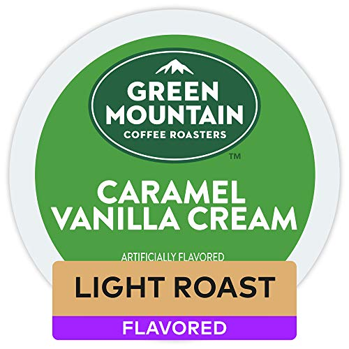Green Mountain Coffee Roasters Caramel Vanilla Cream, 72 Count