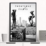 nr Aviator Rockmusik Band Star Poster Wandkunst Moderne