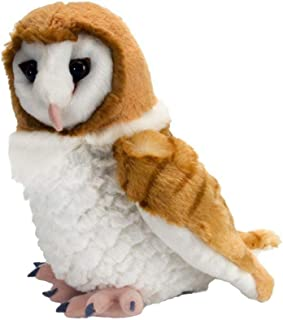 Wild Republic Barn Own, Cuddlekins, Stuffed Animal, 12 inches, Gift for Kids, Plush Toy, Fill is Spun Recycled Water Bottles