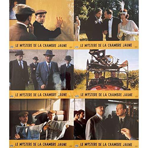 LE MYSTERE DE LA CHAMBRE JAUNE Photos de film x6-21x30 cm. - 2003 - Denis Podalydès, Bruno Podalydès