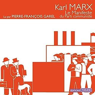 Couverture de Le manifeste du parti communiste