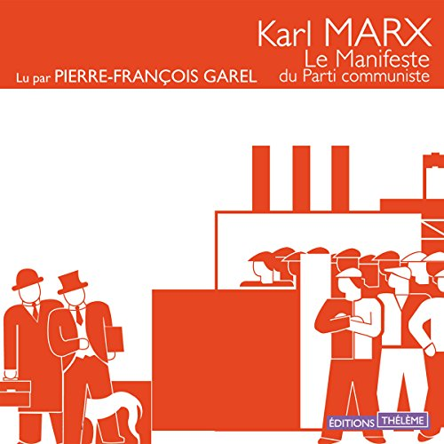 Le manifeste du parti communiste audiobook cover art