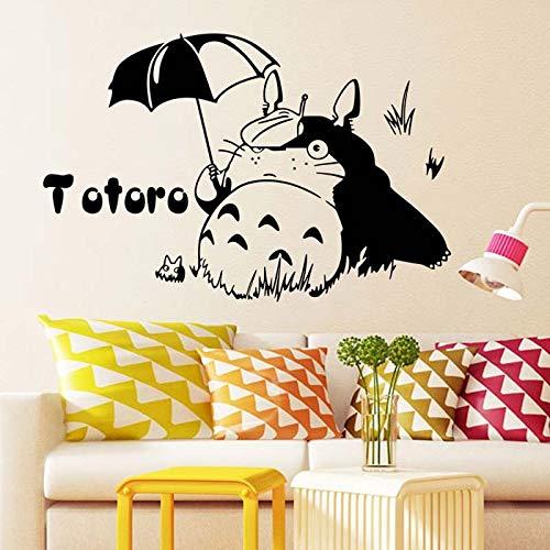 fancjj Cartoon Character Umbrella Lovely Removable Wall Stickers for Nursery Kids Bedroom Vinyl Art Decals Bedroom Poster