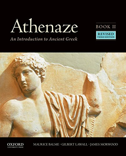 Download Athenaze Book II: An Introduction to Ancient Greek 019060767X
