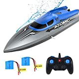 EACHINE EB02 Remote Control Boat 2.4GHZ Electric RC Boats High Speed Racing Boats for Adults & Kids Best Gifts...