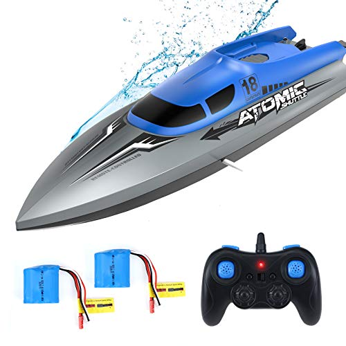 EACHINE EB02 Remote Control Boat 2.4GHZ Electric RC Boats High Speed Racing...