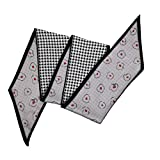シルクスカーフ スカーフとショール - 純粋な色の鋭角のシルクスカーフと鯉のぼりの女性春と秋の装飾の模造シルクHレタースモールスカーフ 軽量とファッション (Color : No. 3, Size : 135-175CM)