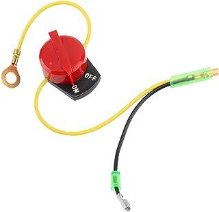 Interruptor de parada del motor encendido, Interruptor de parada del motor encendido para Honda Gx110 Gx120 Gx160 Gx200 Gx240 Gx270 Gx340 Gx390 accesorios para cortacésped Honda Interruptor de parada
