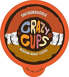 Crazy Cups Flavored Coffee for The Keurig K Cups 2.0 Brewer, -, 22Count