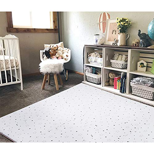 FORSTART Baby Play Mat NonToxic Foam Play Mat for Infants Extra Large 40 x 60 in Thick 08 in Playmats Floor Puzzle Tiles Soft Crawling Mat for Toddlers Stylish amp PetFriendly
